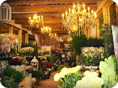 Flower store in Cannes