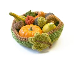 Harvest Bowl (Crochet)