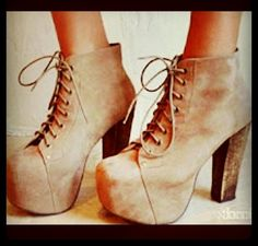 Jeffrey Cambell. I love his shoes!! Want these!