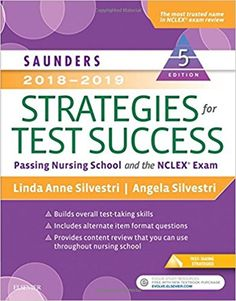 Free nursing books download ebooks online textbooks tutorials saunders 2018 2019 strategies for test success passing nursing school and the nclex exam fandeluxe Image collections