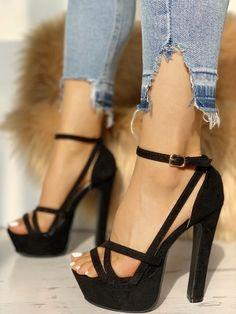 71851f45004 Crisscross Ankle Strap Platform Sandals Fashion Trends