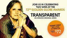 Amazon Prime Discount for Transparent TV Show