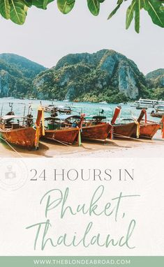 24 hours in phuket thailand // Patong Guide Visit Thailand, Phuket Thailand, Thailand Travel, Asia Travel, The Places Youll Go, Places To Visit, Scuba Diving Thailand, Thailand Adventure, Koh Tao
