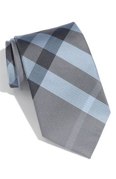 Burberry Woven Silk Tie - Dark Empire Blue