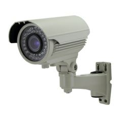 """1/3"""" Pixel Plus CMOS Image Sensor 700 TV Lines 2.8 - 12mm Lens 42LEDs, up to 100ft Ip Security Camera, Fixed Lens, Bullet Camera, Sony Camera, Night Vision, Weather, Cameras, Tv, Image"""