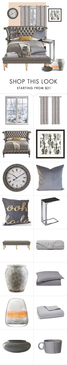 """A Great Day To Go Back to Bed"" by christined1960 ❤ liked on Polyvore featuring interior, interiors, interior design, home, home decor, interior decorating, Haute House, Pottery Barn, Uttermost and Monarch"