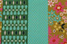 """Melody Miller Vintage Floral Linen Green  <br><FONT COLOR=""""fc7db0"""">Employee Favorite!</FONT>"""