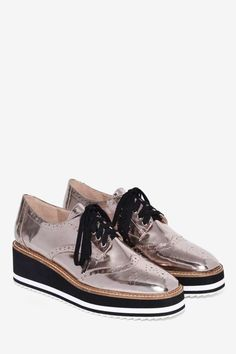 8dbad13c4149 Shellys London Cece Patent Leather Oxford Shoe - Shoes