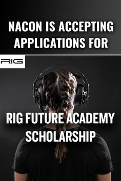 NACON will award four $5,000 scholarships to students in the United States this inaugural year. Scholarships For College, Rigs, The Unit, Student, Movie Posters, Wedges, Film Poster, Billboard, Film Posters