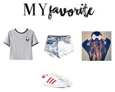 """Untitled #5"" by laura-vanessa-malaika on Polyvore featuring Chicnova Fashion, Boohoo and adidas Originals"