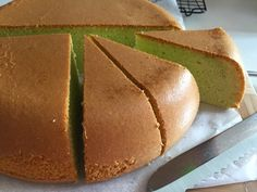 My Mind Patch: Rice Cooker Pandan Sponge Cake