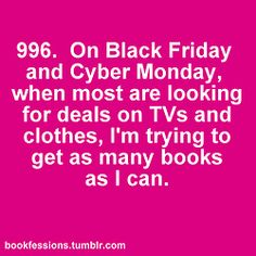 Bookfession #996 : Black Friday book deals!