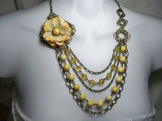 Vintage style Necklace and Earrings   Free by TwystedCreations, $26.95
