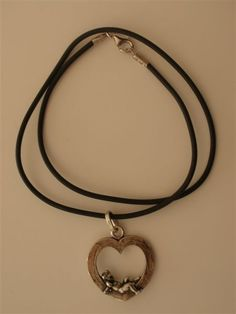 Giovanni Raspini Charms & Co 925/000 Silver Heart with Angel
