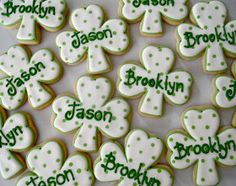 .Oh Sugar Events: St Patrick's Day Cookies