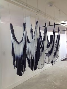 Grethe Wittrock: Nordic Currents, the first U.S. solo exhibition of Danish fiber artist, Grethe Wittrock, includes a series of bird-like fiber objects, experimental paper clothing, and wall hangings; on view at Fuller Craft Museum, Brockton, MA, September 12, 2015 - January 31, 2016.