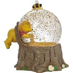 Precious Moments, Disney Showcase Winnie The Pooh Musical Snow Globe, for The Love of Hunny, Resin/Glass, 171708 Disney Winnie The Pooh, Winnie The Pooh Honey, Winnie The Pooh Themes, Winnie The Pooh Nursery, Winnie The Pooh Quotes, Vintage Winnie The Pooh, Disney Nursery, Winnie The Pooh Pictures, Winnie The Pooh Classic