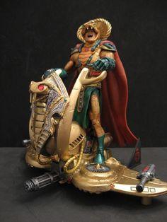 toycutter: Serpentor action figure (G.I. Joe)