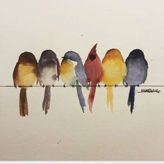 watercolor art Tattoo animal birds watercolor painting 33 ideas for 2019 Watercolor Bird, Watercolor Animals, Watercolor Paintings, Tattoo Watercolor, Watercolors, Watercolor Ideas, Paintings Of Birds, Watercolor Pictures, Painting Inspiration