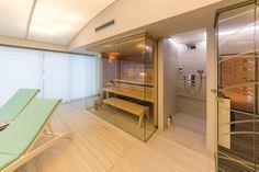 Prosklená sauna Klafs v domácím wellness Wellness, Sauna, Bathtub, Bathroom, Google, Standing Bath, Washroom, Bathtubs, Bath Tube