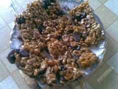 Przepisy Kulinarne, batoniki z płatków kukurydzianych