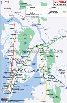 43 Best Bombay Mumbai Map images