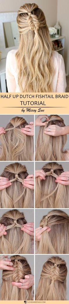 Those who got lost trying to find out how to fishtail braid have to read this article till the end. We prepared for you just three tutorials that you will find to be the easiest! Let's break the stereotype about braids together: it's not complicated. Try these tutorials to get convinced. #fishtail#fishtailbraid#braids#tutorial