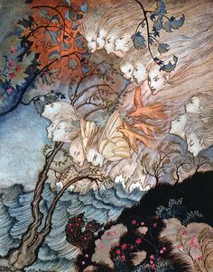 Shakespeare's The Tempest, with an Introduction and Illustrations by Arthur Rackham.