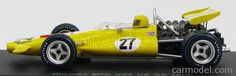 SPARK-MODEL S3135 Scale 1/43  McLAREN F1  M7C N 27 USA GP 1970 JO BONNIER YELLOW WHITE RED