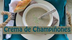 Crema de Champiñones Casera Fácil y Deliciosa -- The Frugal Chef