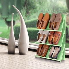 Are your shoes taking up too much room? Then the Fine Living Shoe Organiser is the perfect space-saving solution to keep your cupboard or bedroom neat and tidy and your prized shoes organised and protected.It's also easy to clean with just soap and water! Available in three awesome colours - Mint Green Light Colors, Colours, Light Blue, Shoe Organiser, Organizing, Organization, Neat And Tidy, Your Shoes, Space Saving