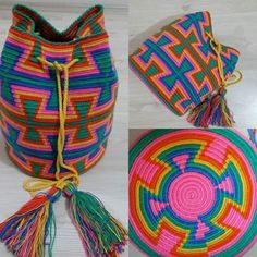 WAYUU ÇANTA YAPILIŞI DETAYLI TÜRKÇE VİDEOLU ANLATIMLI | Nazarca.com Tapestry Crochet Patterns, Contemporary Embroidery, Tapestry Bag, Crochet Handbags, Diy Fashion, Straw Bag, Crochet Necklace, Knitting, Crafts