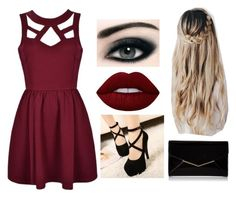 """""""Outfit 49"""" by decemberbaby19 on Polyvore featuring Bourjois, Lime Crime and Furla"""