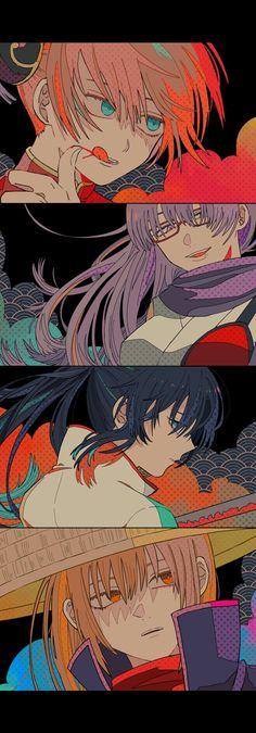 Hanako on – Gintama Manga Anime, Anime Art, Anime Chibi, Silver Samurai, Gintama, Shingeki No Bahamut, Otaku Mode, Comedy Anime, Sketches