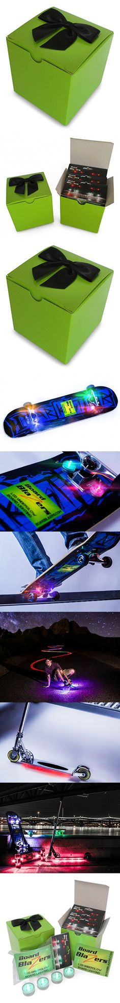 Board Blazers, The Original LED Underglow Skateboard, Longboard, Self Balancing Scooter & Kick Scooter Lights