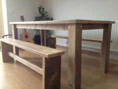 Scaffold Board Table & Benches | eBay