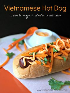Vietnamese Banh Mi Hot Dog #StartYourGrill #CollectiveBias-I'm Not the Nanny