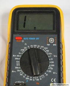 Multimetro basico 05