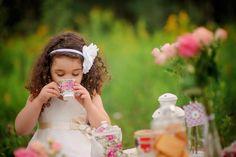 Чаепитие для Мариши (фотосессия для девочки)
