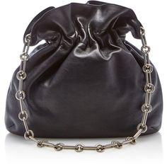 Lenox Lambskin Hobo   Moda Operandi (€990) ❤ liked on Polyvore featuring bags, handbags, shoulder bags, michael kors, lambskin leather handbags, lenox, hobo handbags, hobo purses and lambskin leather purse