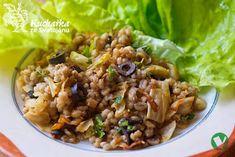 Quinoa, Polenta, Vegan Recipes, Vegan Food, Healthy Food, Grains, Veggies, Food And Drink, Bulgur