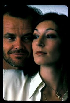 Jack & Anjelica...back when he used to date women who weren't 1/5 of his age. Hahaha