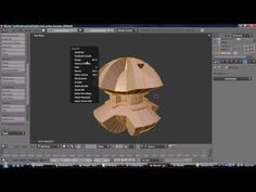 Blender 2.5 Crash Course [Part 2] - Modifiers Smoothing Groups and Retopo - YouTube