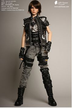 Special Force_Rebecca by Iple House doll, via Flickr