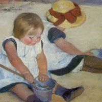 children photo: Children ChildrenOnTheBeachMaryCassatt.jpg