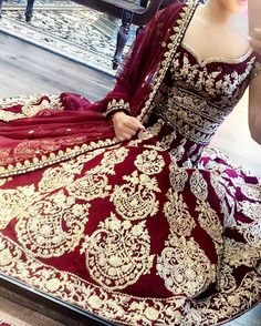 Red & Silver Anarkali || JUST BIUTIFULL!!!!!!!!!!!!!