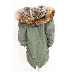Paris´s Army Jacket Roze Parka's Dames winterjassen met