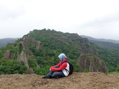 Gunung Api Purba Nglanggeran in Jogja, Indonesia