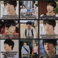 (dooleycouple: Someone woke up on the wrong side of the bed… every day of his life.) LOL. Pinning for that comment alone. #Heartstrings #korean #drama