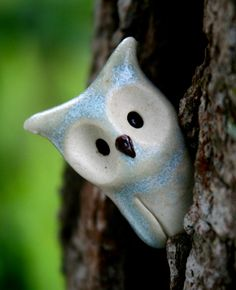 ON RESERVE for WENDY Binns the Clay Owl Harry Potter di calicoowls
